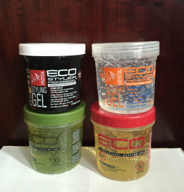 ECO STYLER HAIR STYLING GEL RODUCTS FOR ALL HAIR TYPES